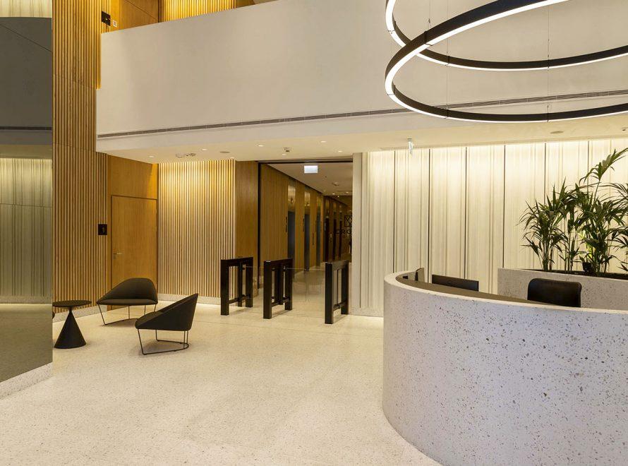 Lobby w Crown Square Warszawa