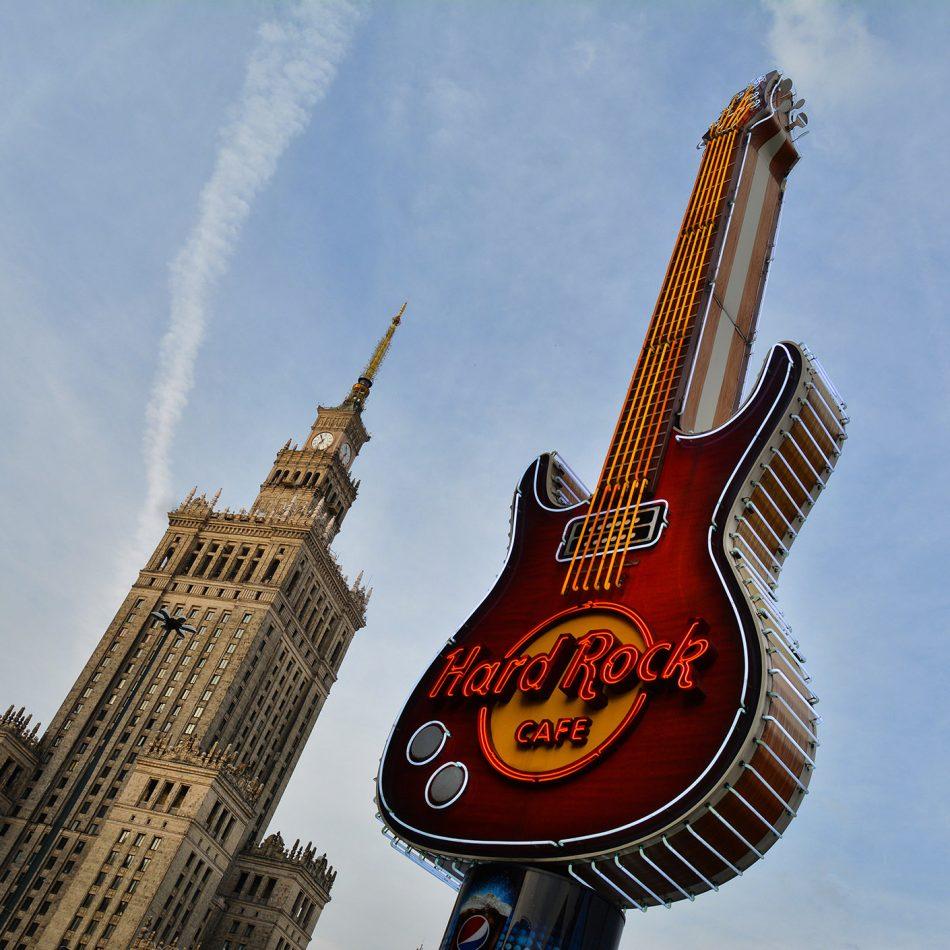 Hard Rock Cafe w Warszawie