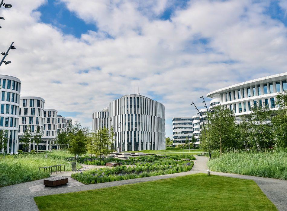 Powierzchnie biurowe dla najemców Business Garden Warszawa