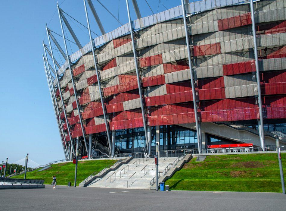 Zaplecze gastronomiczne Stadionu Narodowego w Warszawie